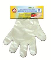 Перчатки полиэтиленовые TM Помощница 50 шт.