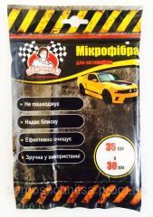 Салфетка из микрофибры для автомобиля TM Помощница