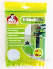Салфетка из микрофибры для кухни TM Помощница 35х30см.