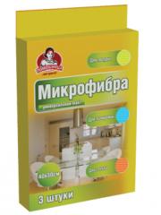 Салфетка из микрофибры универсальная МАХІ TM Помощница 40х30см, 3шт