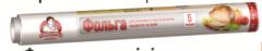 Фольга алюминиевая TM Помощница 9 мкм, 44см х 6м,
