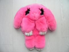 Bag toy the Rabbit in pink color