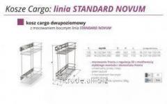 Выкатная корзина для кухни  Kosz Cargo- linia STANDARD NOVUM W-2323M-150