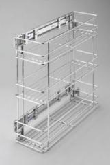 Выкатная корзина для кухни  Kosz cargo trzypoziomowy- linia STANDARD W-2314M-150