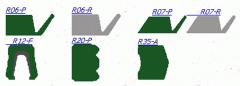 Орцевые уплотнения (R06, R07, R12, R20, R35) для