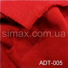 Ткань трёхнитка, Код: ADТ-005 Красная