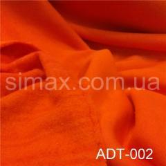 Ткань трёхнитка, Код: ADТ-002 Оранжевая