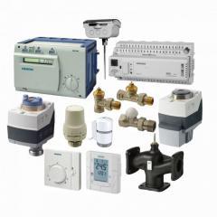 Клапаны, привода, терморегуляторы, термостаты,