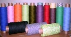 Decorative color finishing twine for design