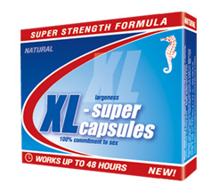 CAPSULE XL-SUPER (4 capsules on 0.3 g in blisters)