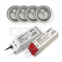Комплект галогеновых светильников ZH-420