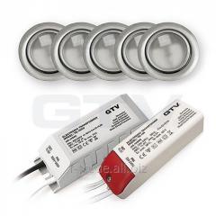 Комплект галогеновых светильников ZH-520
