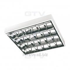 Растровый накладной светильник EVG арт.: OS-RE418N-01 OS-QU418W-UC