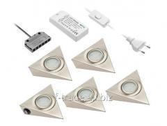 Комплект светодиодных светильников с выключателем арт.: LD-Z5OTCB-51