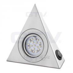 Светодиодный светильник треугольный с выключателем