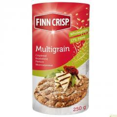 菲恩·克里斯普面包杂粮。净重:250克; 蛋白质:11; 伊日:6; 碳水化合物:57;