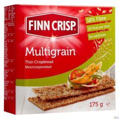 FINN CRISP Croutons multigrain. Net weight: 175 g