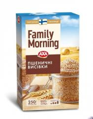 Пшеничные отруби АХА Family Morning 250 г. Пищевая