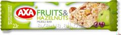 AXA cereal bar with fruits and nuts '23