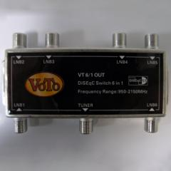 DiSEqC 6x1 Switch