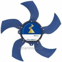 El ventilador Ziehl Abegg