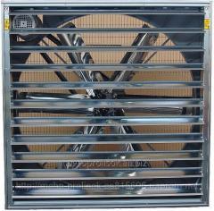 Осевые настенные вентиляторы,  вытяжные...