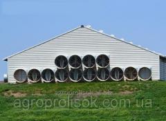 La ventilación de las granjas ganaderas