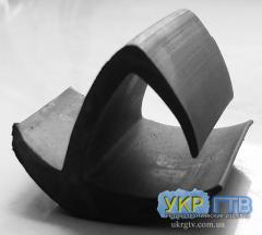 Rubber profiles for auto industry