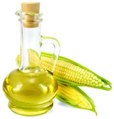Corn oil of the first cold extraction