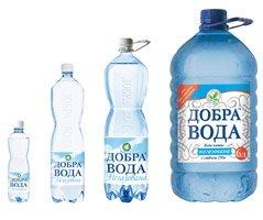 Добрая вода натуральная негазированая