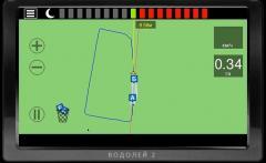 Бортовой компьютер  агронавигатор  Водолей 2