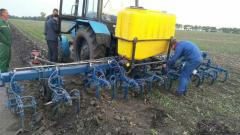 Additional equipment of tillage and sowing