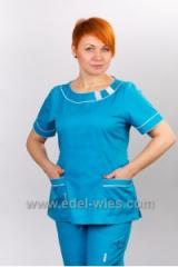 Женский медицинский халат для хирургов