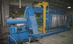 The filter press of a WC 100/30-1200M, is