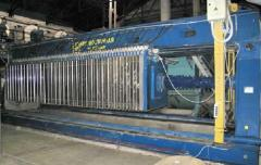 The filter press of a WC 150/40-1200M, is