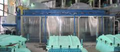 The filter press of a WC 150/40-1200 x 1200