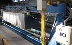 The filter press of a WC 150/40-1200 x 1200 M made