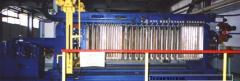 The filter press of a WC 32/25-800 established on