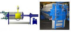 Фильтр-прессы ЧМ с боковой подвеской на базе плиты