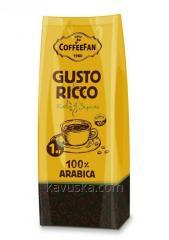 Кофе CoffeeFan Gusto RICCO 1кг зерно