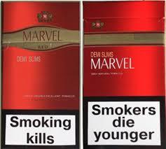 Сигареты Марвел деми красный