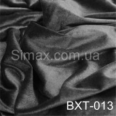 Ткань бархат стрейч, Код: Серый ВХТ-013