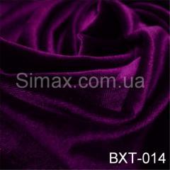 Ткань бархат стрейч, Код: Фиолетовый ВХТ-014