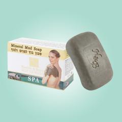 Грязевое минеральное мыло для лица