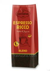 Кофе в зернах CoffeeFan Espresso RICCO 1 кг