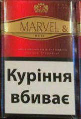 Cigarettes Marvel red