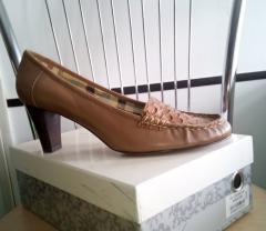 Туфли Egle GL CZ2355-21C коричневые, кожа