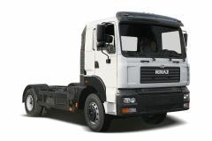 Автомобиль-шасси КрАЗ-5401H2 белый