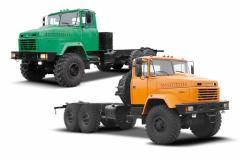 Автомобиль-шасси КрАЗ-6322-1 зеленый