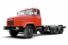 Автомобиль-шасси КрАЗ-65053 красный
